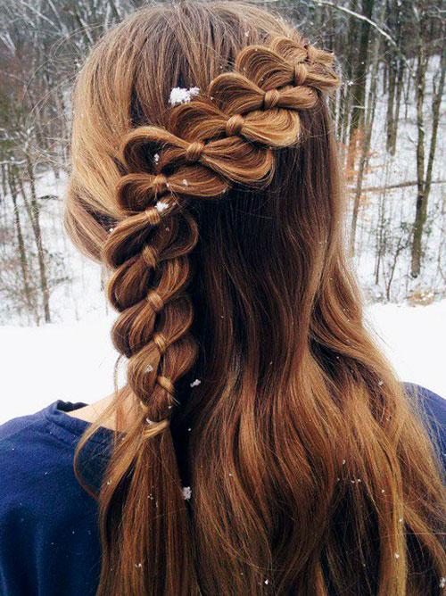 Коса из узлов