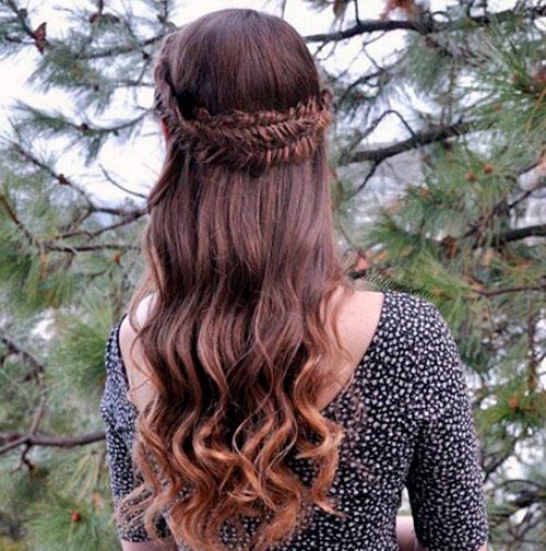 Венок из кос