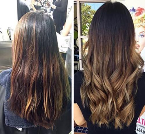 карвинг волос фото до и после отзывы