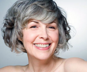 Окрашивание седых волос для женщин за 50