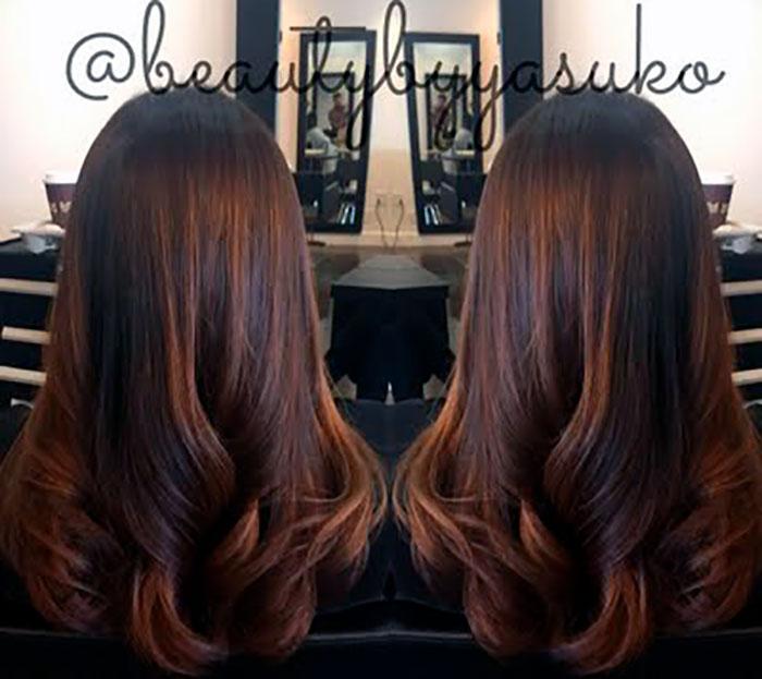 Цвет мокко для волос
