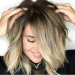 Укладка на средние волосы в домашних условиях