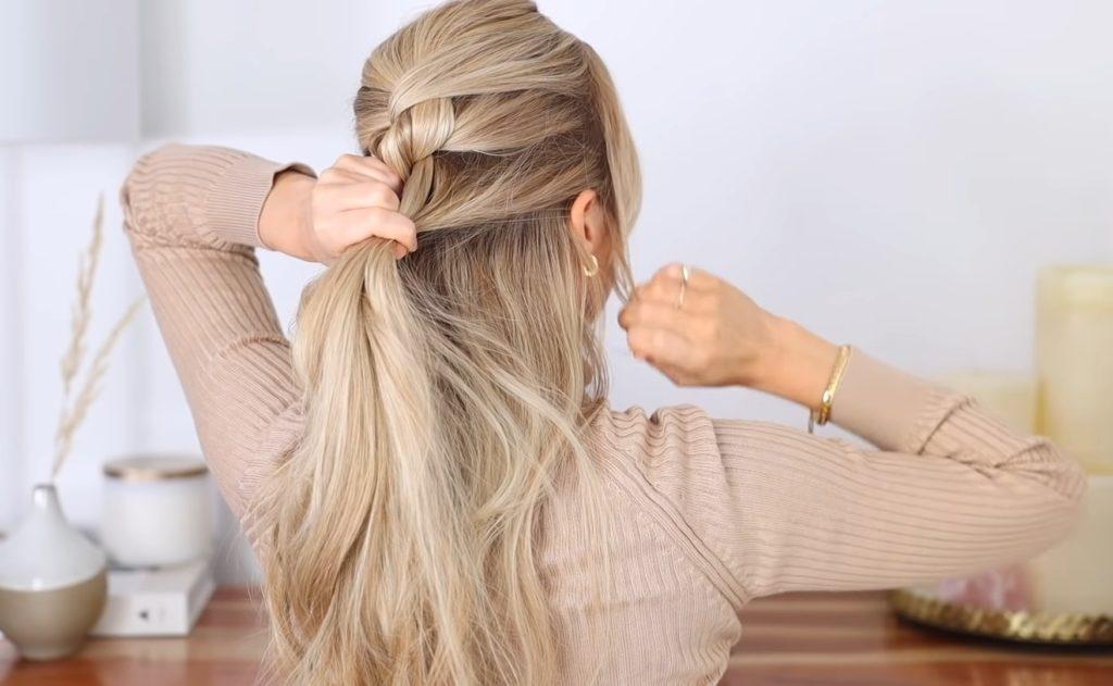 Шикарная коса водопад