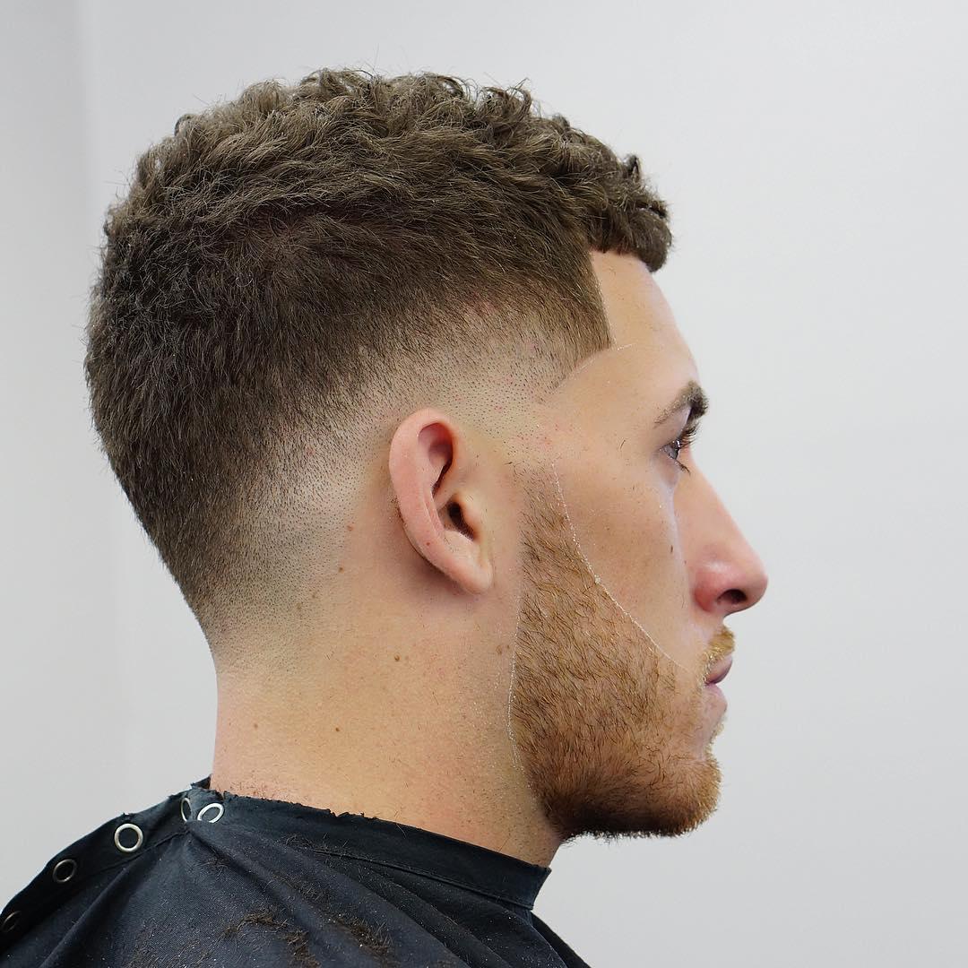 Дропфейд на вьющиеся волосы