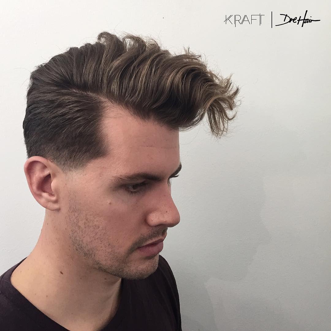 Конусная стрижка для густых волос