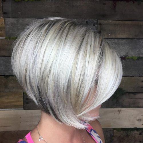 женская стрижка мисс ледяной блонд